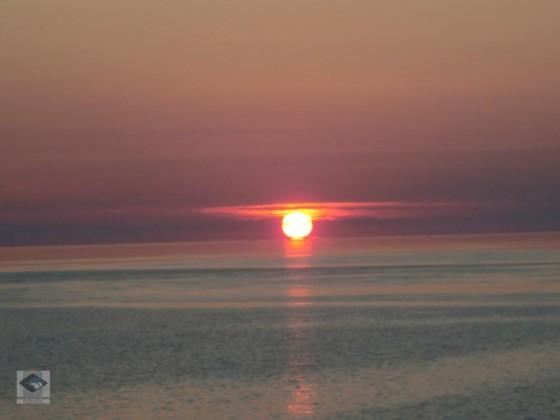 Sonnenuntergang  Brouwersdamm Juli 2012 25.07