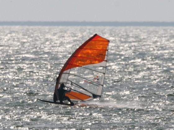 Patrik Diethelm Sl 110 V3 mit Loftsails Racing Blade 7,0