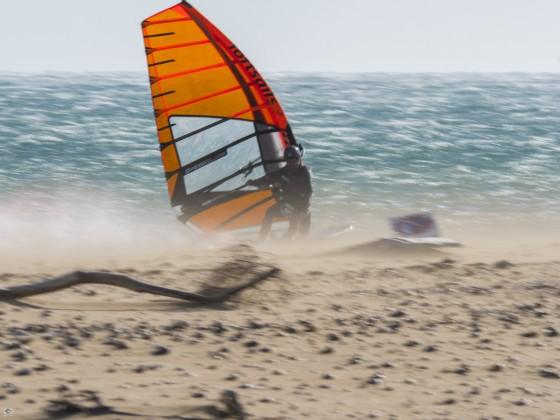 Speedsurfen in La Franqui mit ca. 45kn