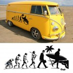 aufkleber evolution surf