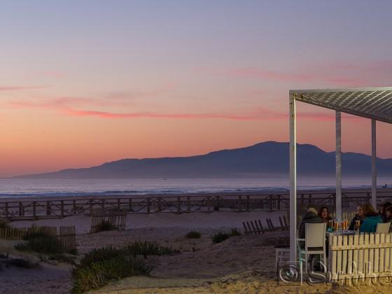Tarifa Playa Chica / Balneario. Ein Winterabend... ;-)