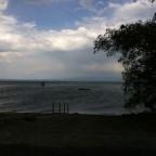 Den Wind spürte ich und die Vorfreude war da.