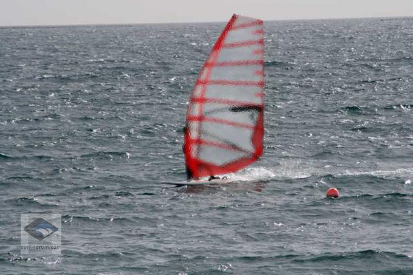 Testing 2009 Racesails