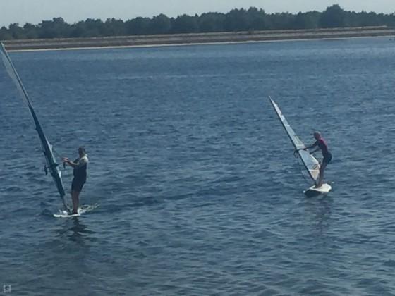 Erstes gemeinsames surfen mit meiner Tochter