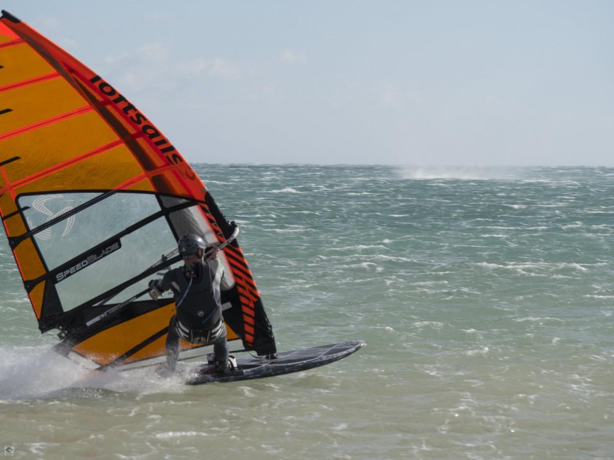 Speedsurfen in La Franqui