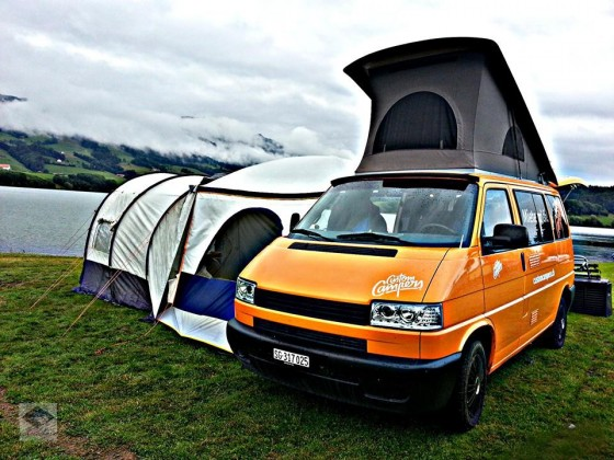 Custom Campers on tour...